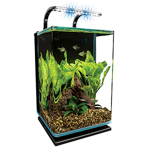 MarineLand Contour Glass Aquarium