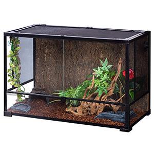 REPTI ZOO Reptile Glass Terrarium