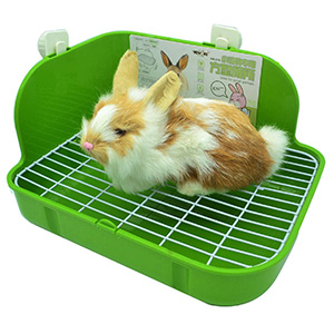 RUBYHOME Rabbit Litter Box Toilet