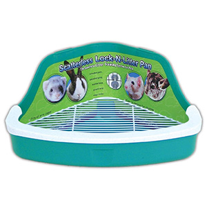 Ware Manufacturing Plastic Scatterless Small Pet Pan