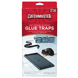 Catchmaster 402 Baited Rat, Mouse and Snake Glue Traps